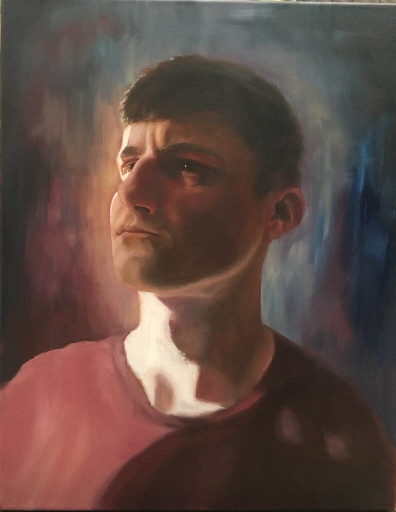 """Artwork - """"Portrait of My Brother"""" by Anneliese Perfetti"""