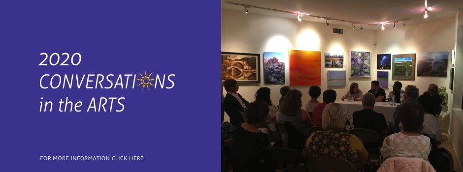 conversations in the arts slider